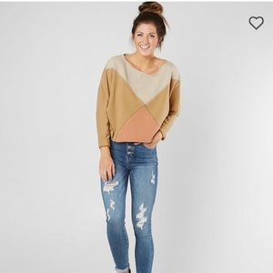 Free People Montauk Pieced Sweatshirt